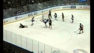 Северсталь - Слован 17.10.2012: второй гол Дениса Казионова