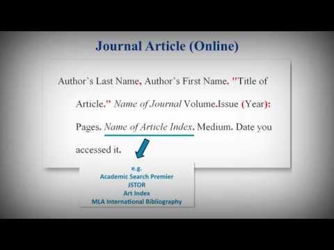 Mla academic paper citation \u2013 Essay Birdie
