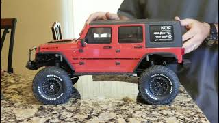 Axial Scx10 II 2017 jeep wrangler crc,  free suspension and cosmetic mods