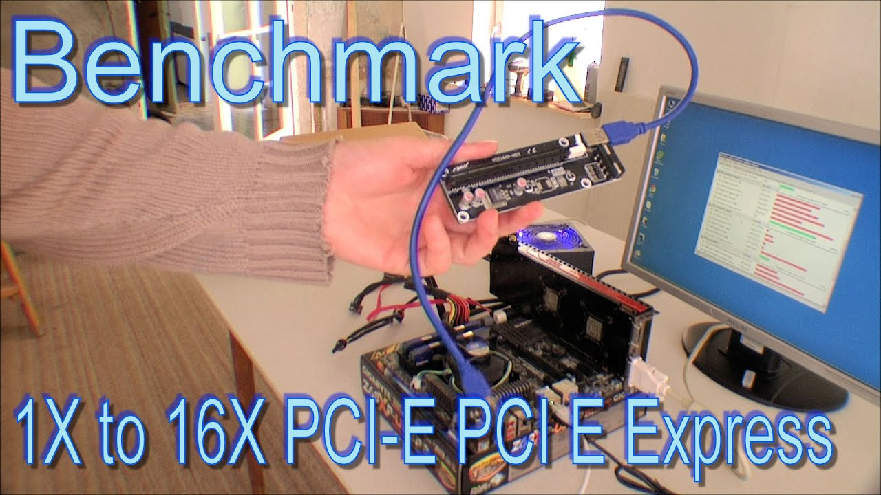 Benchmark 1x To 16x Pci E Pci E Express Extender 193