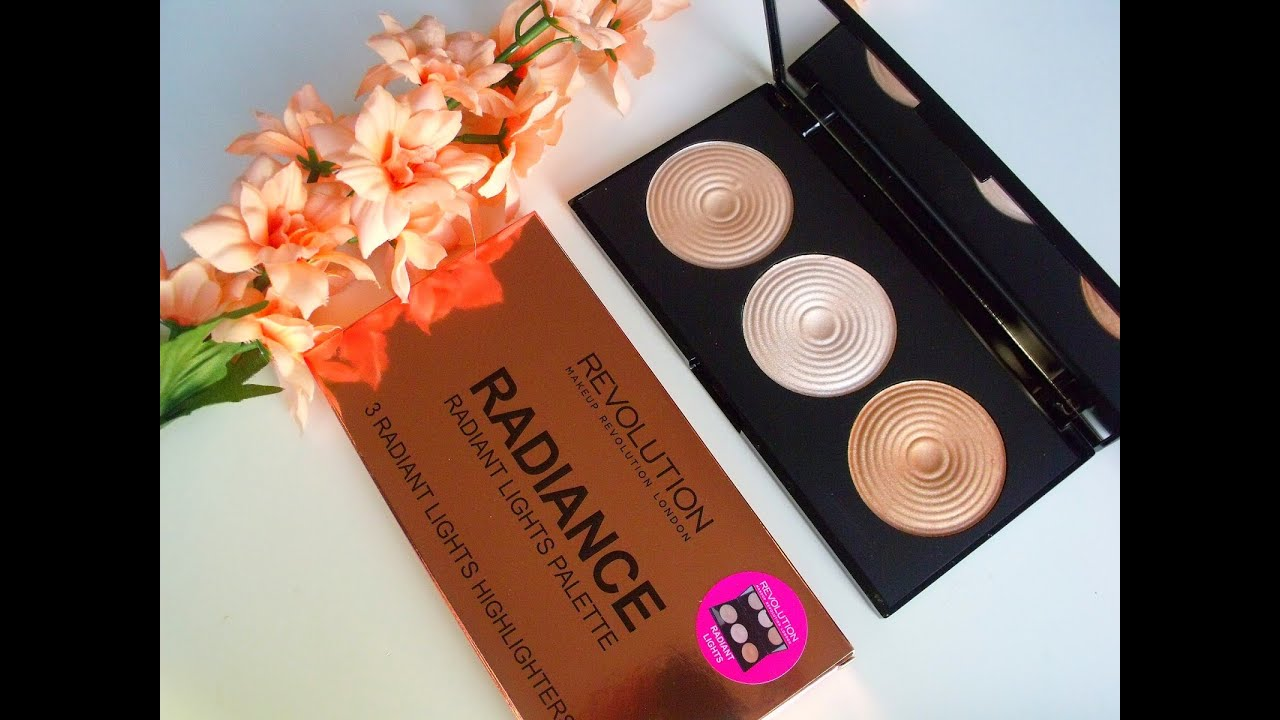 Image result for makeup revolution radiance palette