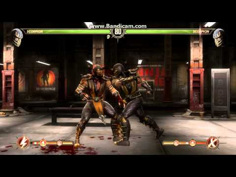 Mortal Kombat Komplete Edition ((PC-Steam)) Gameplay (1 Player-Ladder) Stg-01