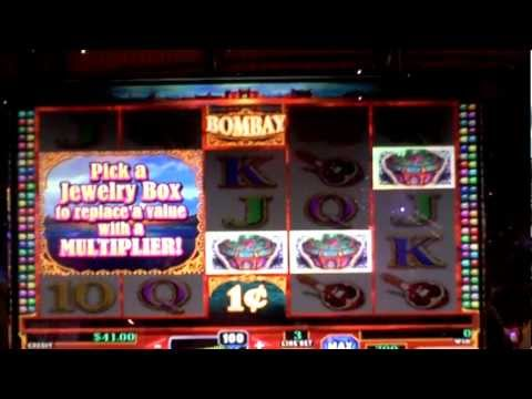 Slot bonus Jewelry Box win on Bombay at the Sands Casino in Bethlehem