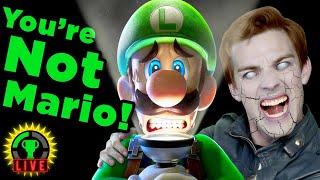 Ghosts Don't Scare Me! | Luigi's Mansion 3 (Part 1)