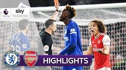 Punktgewinn trotz früher roten Karte | Chelsea - Arsenal 2:2 | Highlights - Premier League 2019/20