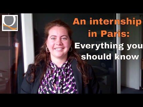 An internship in Paris