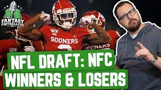 Fantasy Football 2020 - NFL Draft Breakdown: NFC Winners & Losers - Ep. #881