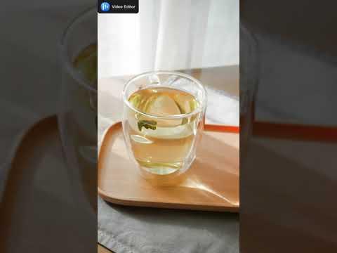 阿妹茶樓茶葉冷泡茶製作演示Demonstration of making cold tea in Amei Teahouse