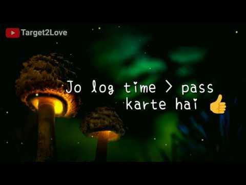 Beautiful Love Trust Quotes in Hindi Language||WhatsApp Status Video
