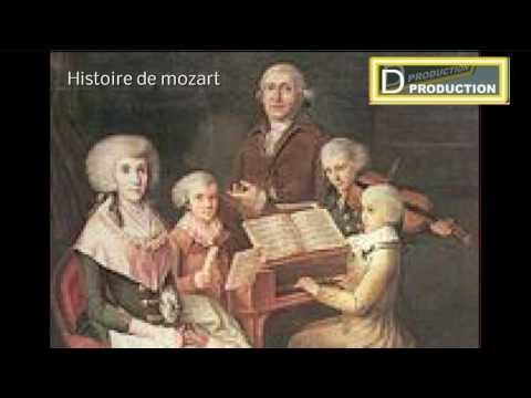 histoire de mozart officiel