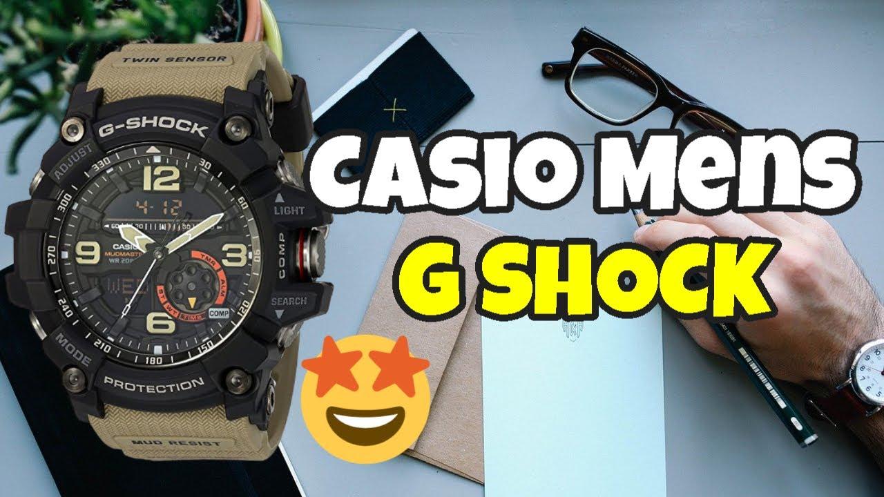 Casio Mens G Shock Quartz Resin Casual Watch Save On Amazon Youtube