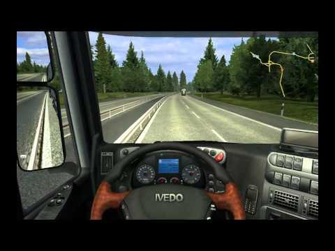 Serbian Truck simulator 2 :D extremna voznja :D  Sid-Nis