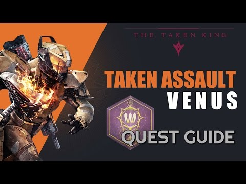 Taken Assault: Venus Quest in Destiny: The Taken King - How to find Champion