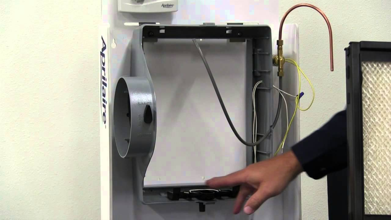 aprilaire 400 humidifier instructional video [ 1280 x 720 Pixel ]