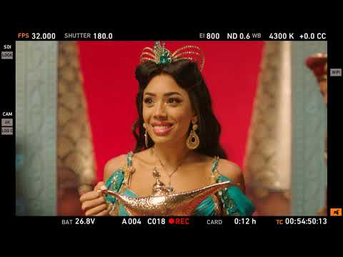 ALADDIN London: Behind the scenes of our TV ad!