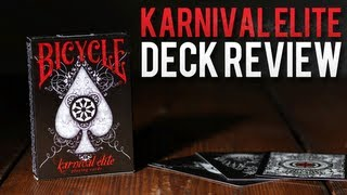 Deck Review - Bicycle Karnival Elite Playing Cards