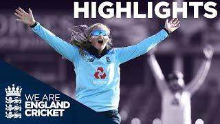 England Win By Record 208 Runs!  | England Women v Windies Women 1st ODI 2019 - Highlights