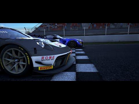 Assetto Corsa Competizione Quick Race / W setup / 2019 Porsche 911 GT3R / Barcelona  