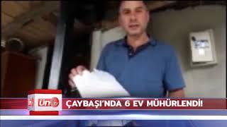 ÇAYBAŞI-Belediye Ruhsat Verdiği Evleri Mühürledi