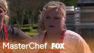 Renee Fails To Season The Burgers | Season 10 Ep. 4 | MASTERCHEF