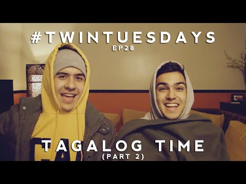 Perkins Twins #TwinTuesdays - Tagalog Time (Part 2)