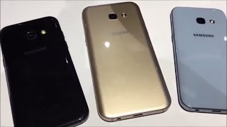 samsung galaxy a3 2017   a5 2017   a7 2017 hands on and full review