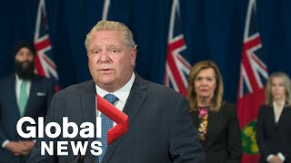 Coronavirus outbreak: Ontario Premier Ford to provide update on COVID-19 response | LIVE