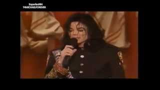Michael Jackson NAACP Award 1993