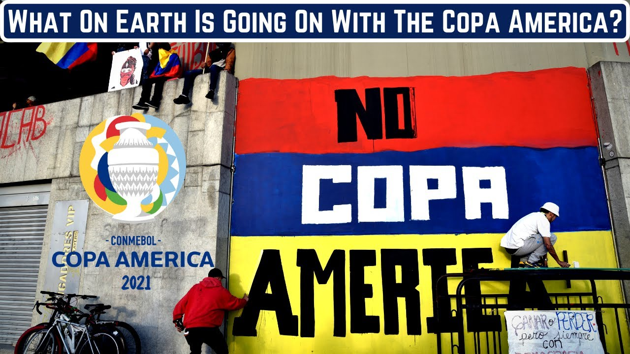 What On Earth Is Going On With The Copa America?