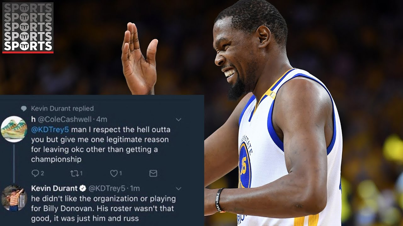 Kevin Durant Admits He Still Uses Burner Accounts 3 Years After Getting Embarrassingly Caught