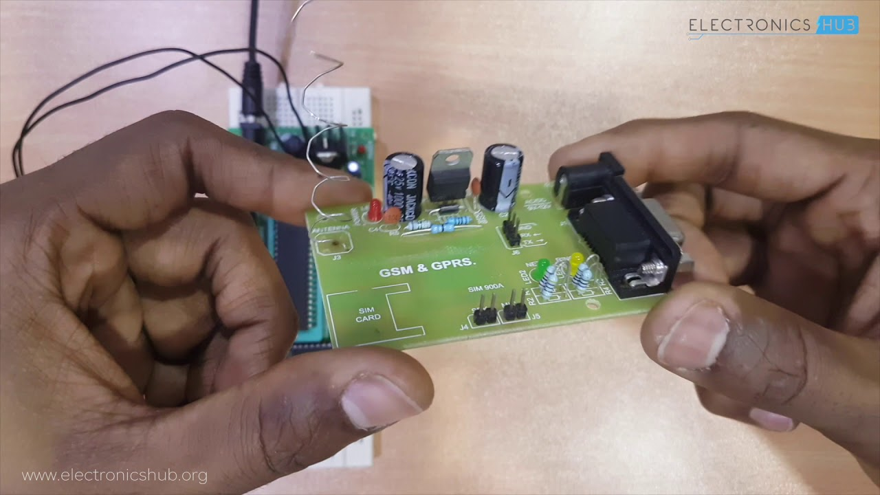 small resolution of wireless electronic notice board using 8051