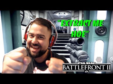 EXTRACT ME HOE!! (Star Wars - Battlefront 2 - Campaign # 1)