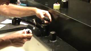 Repairing a leaking American Standard Kitchen Faucet...Part 2
