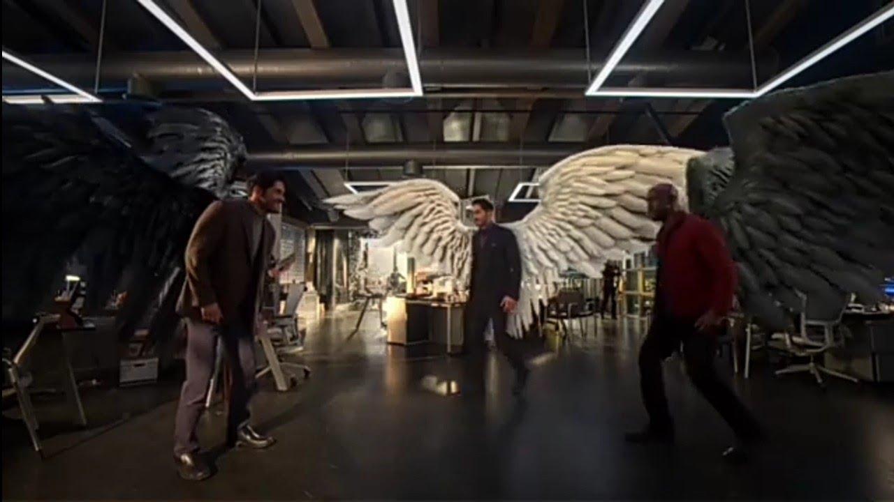 Download Lucifer Saison 5 Épisode 8 Lucifer Et Amenadiel Contre Michel Et Maze & L'arrivée De Dieu VF