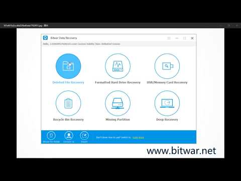 Bitwar Data Recovery