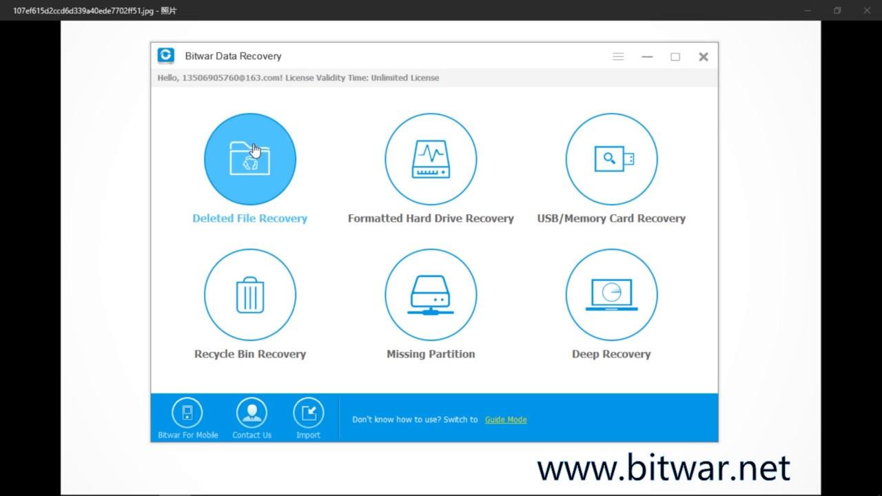 bitwar data recovery license key