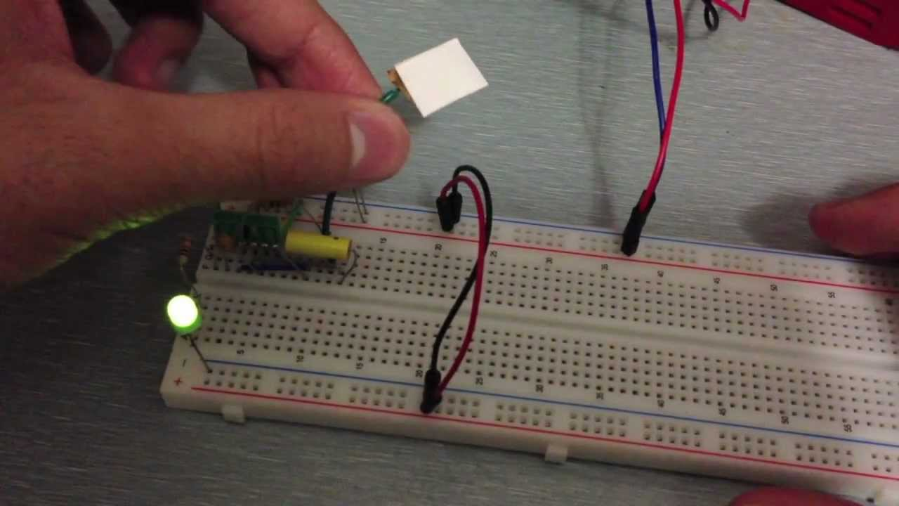 How to Make a Simple Touch Sensor, Tutorial and Circuit - YouTube