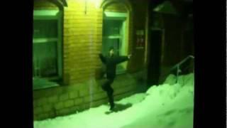 Новогодние танцы-Это реальный репчик пацаны!!!.flv