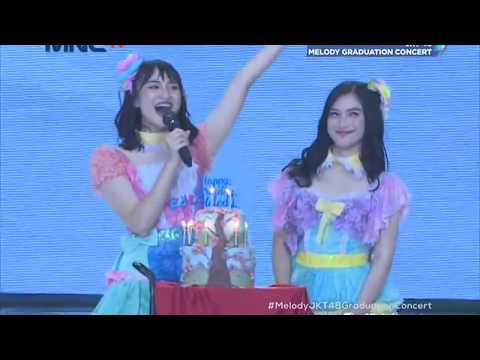 [HD] JKT48 - Gingham Check + Namida Surprise @ Melody Graduation Concert (TV Ver.) 180513