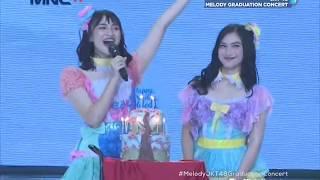 Download Mp3  Hd  Jkt48 - Gingham Check + Namida Surprise @ Melody Graduation Concert  Tv Ver