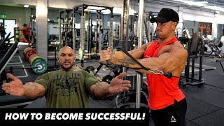 THE SECRET TO TRUE SUCCESS & THE ULTIMATE CHEST WORKOUT TIPS!!