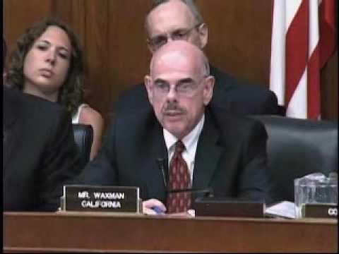Chairman Waxman Questions BP CEO Tony Hayward #2