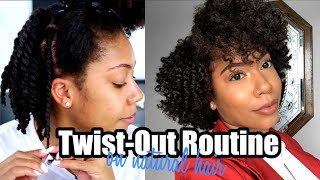 Updated TWIST-OUT Routine | Flat Twist/ Two Strand | Faceovermatter