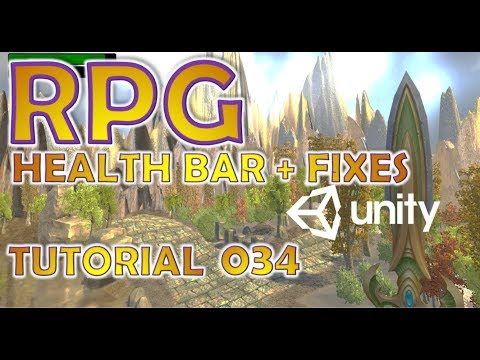How To Make An RPG For FREE - Unity Tutorial #034 - HEALTH BAR + BUG FIXES thumbnail