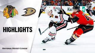 NHL Highlights | Blackhawks @ Ducks 11/03/19