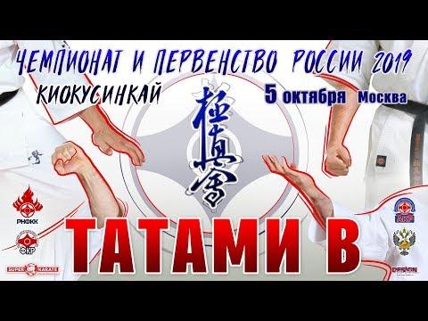 Чемпионат и Первенство России (16-17 лет) по киокушинкай. ТАТАМИ B