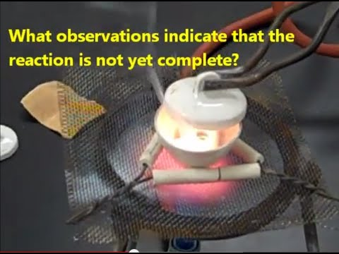 Experiment - Oxidation Of Magnesium - Mr Pauller