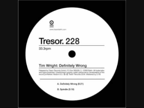 Tim Wright - Definitely Wrong