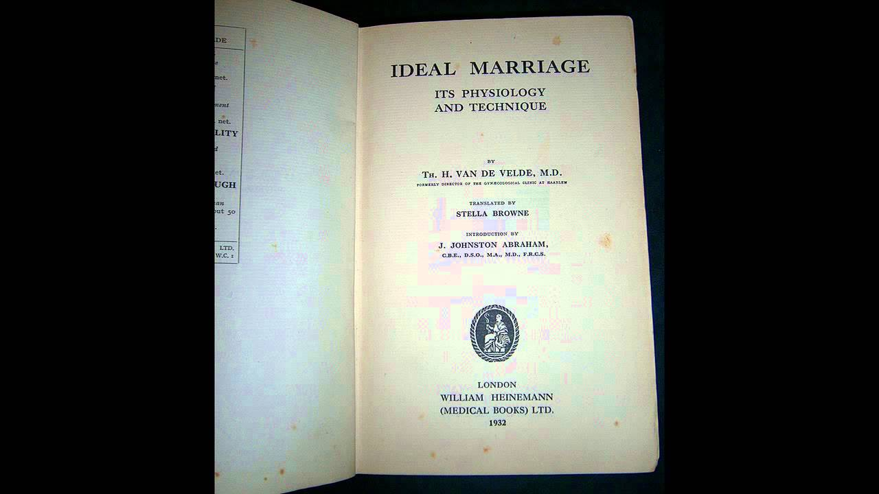 Ideal Marriage Book
