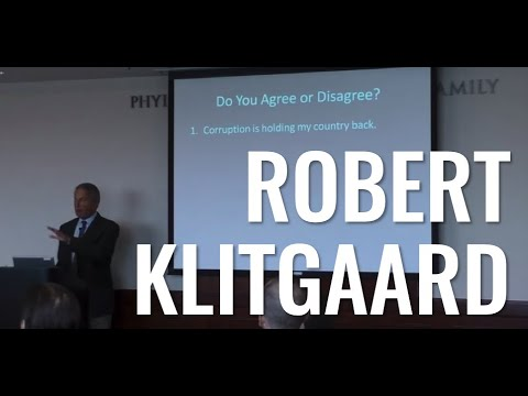 """The Private Sector against Corruption: Lessons of Success"" - Robert Klitgaard"